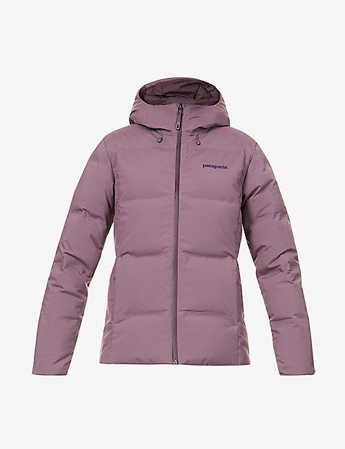 PATAGONIA: Jackson Glacier hooded shell-down jacket