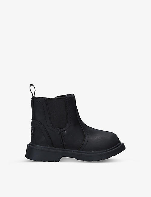 UGG: Bolden waterproof leather ankle boots 2-6 years