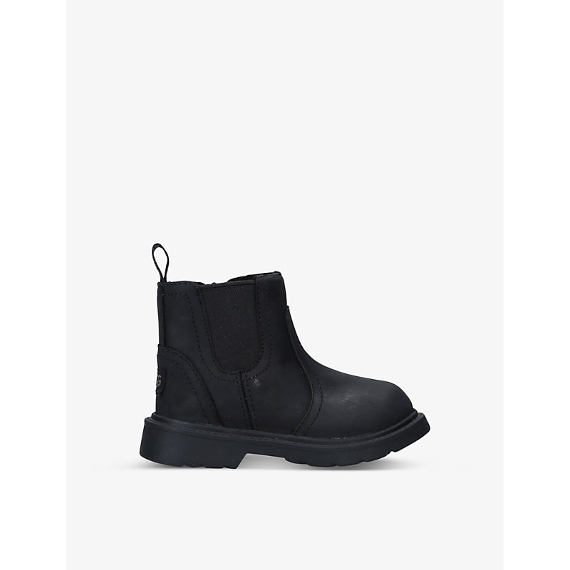 Ugg BOLDEN WATERPROOF LEATHER ANKLE BOOTS 2-6 YEARS