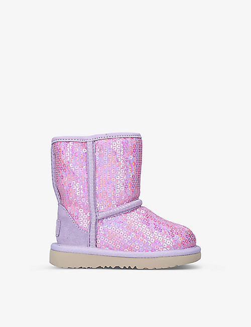 UGG: Classic II Stellar Sequin boots 2-7 years