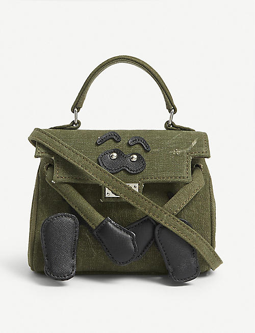 READYMADE: Monster nano cotton shoulder bag
