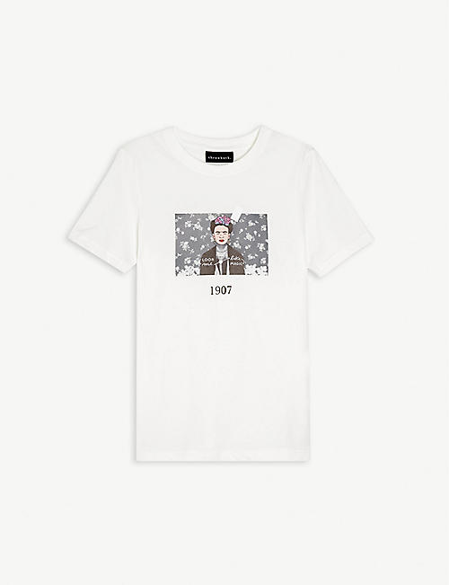 THROWBACK: Frida graphic-print cotton T-shirt 4-16 years