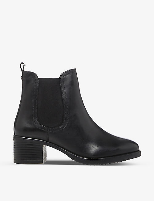 DUNE: Parker leather Chelsea boot