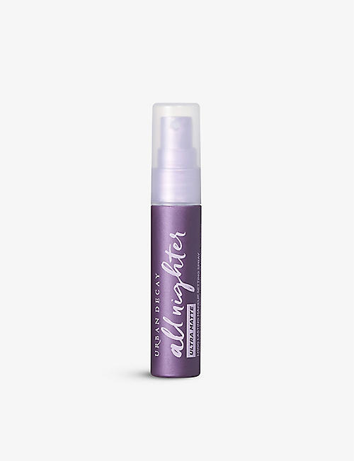URBAN DECAY: All Nighter Ultra Matte travel makeup setting spray 30ml
