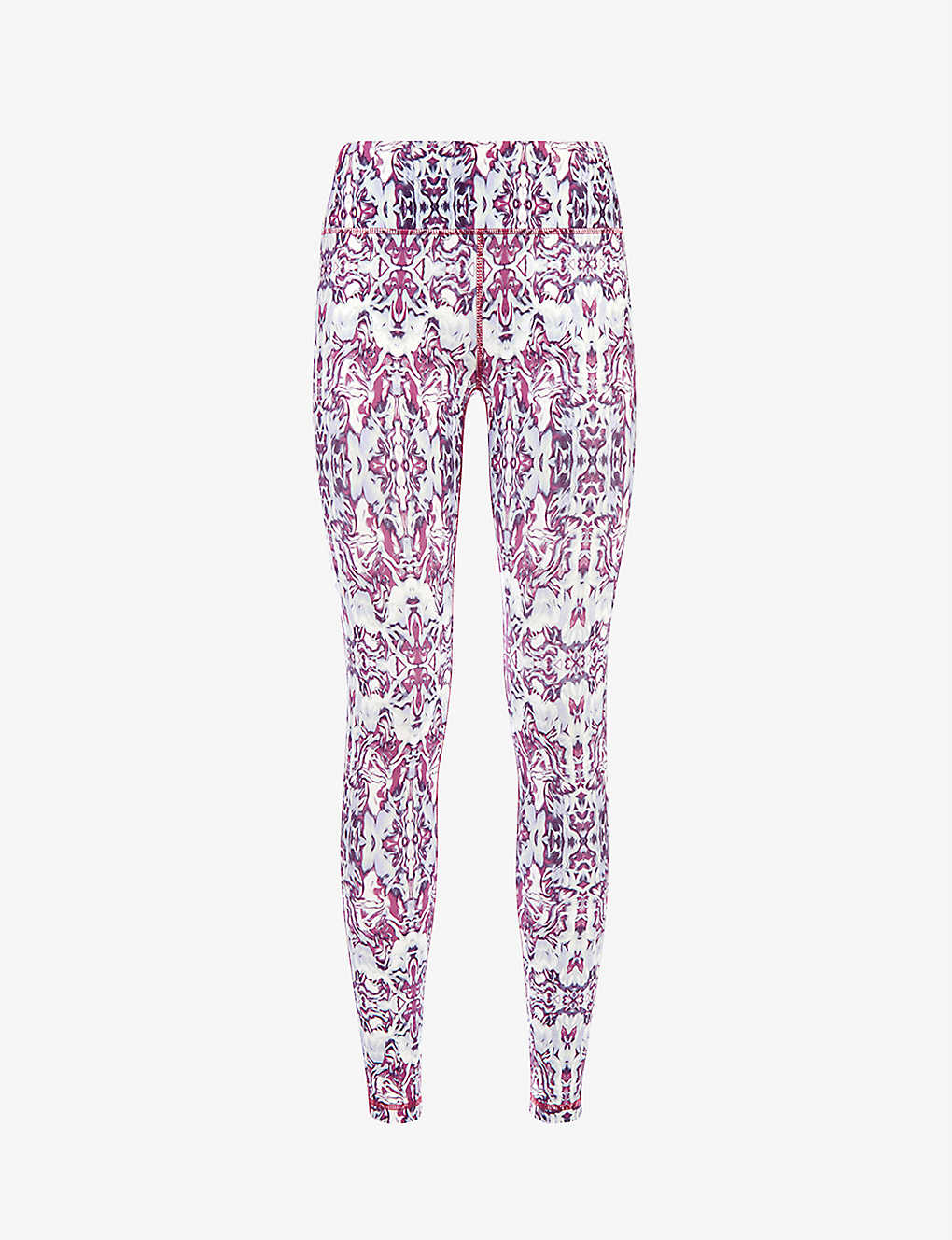 SWEATY BETTY: All Day Contour abstract-print stretch-jersey leggings