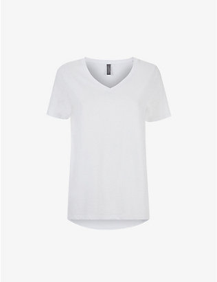 SWEATY BETTY: Refresh organic cotton-jersey T-shirt