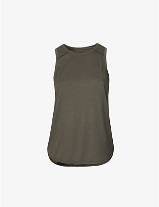 SWEATY BETTY: Pacesetter woven top