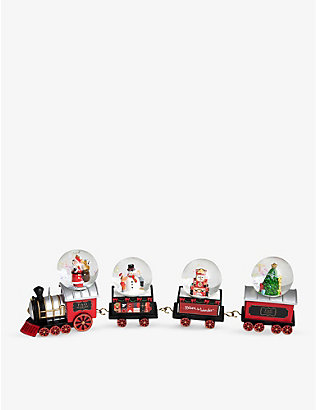 FAO CHRISTMAS: Christmas snow globe locomotive set