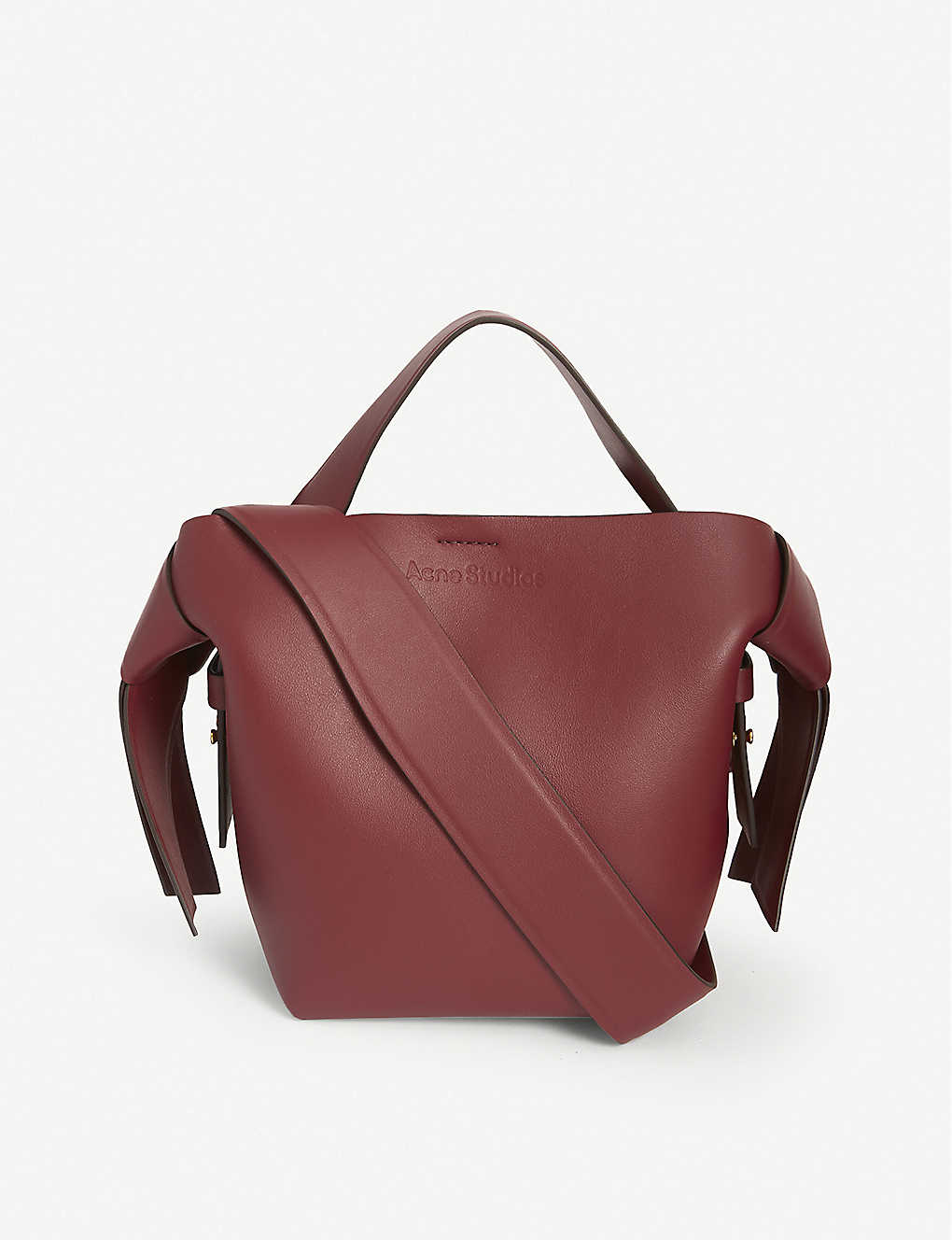 ACNE STUDIOS: Musubi medium leather shoulder bag