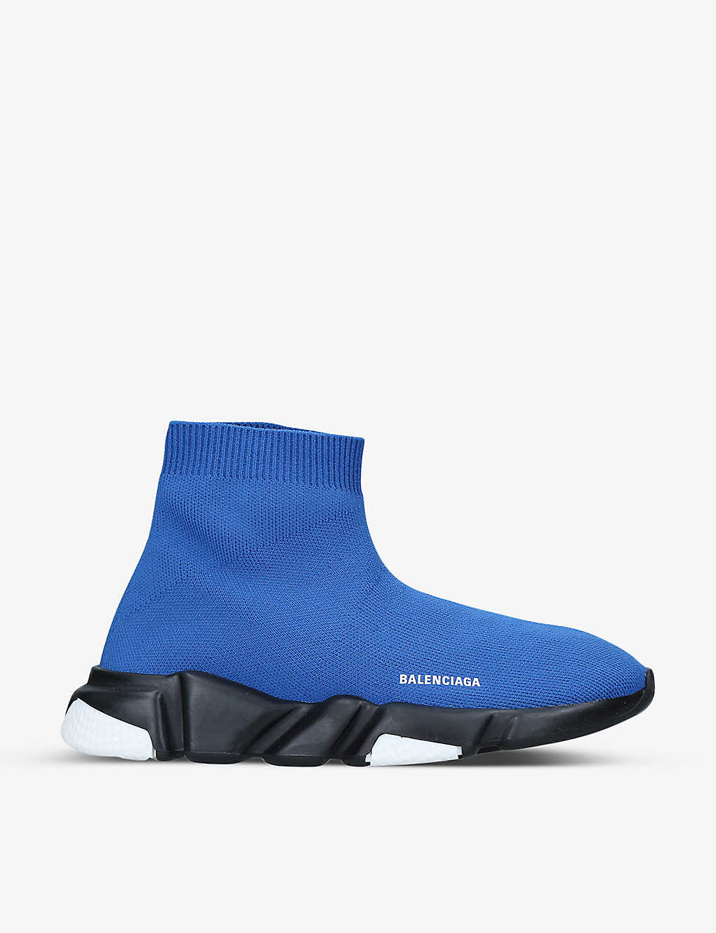BALENCIAGA: Speed slip-on knitted mid-top trainers 4-7 years