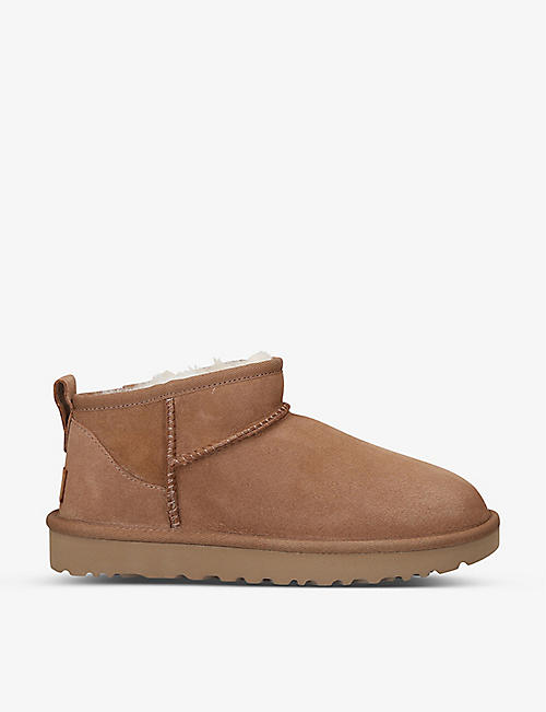 UGG: Classic Ultra Mini sheepskin boots
