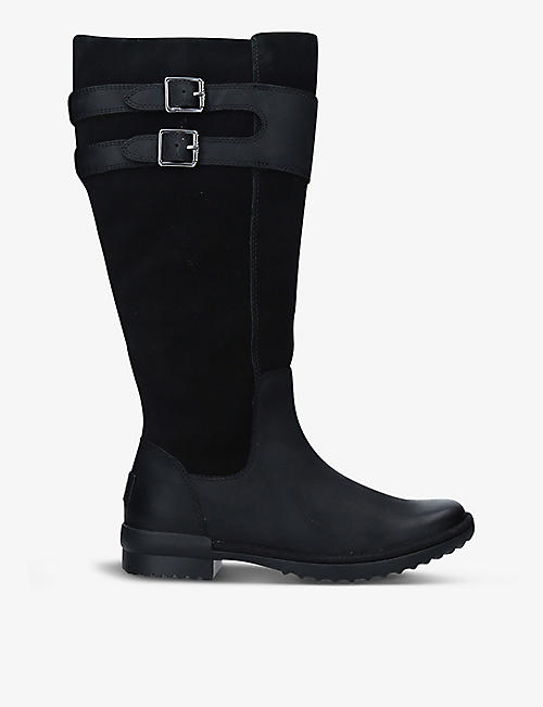 UGG: Zarina leather knee-high boots