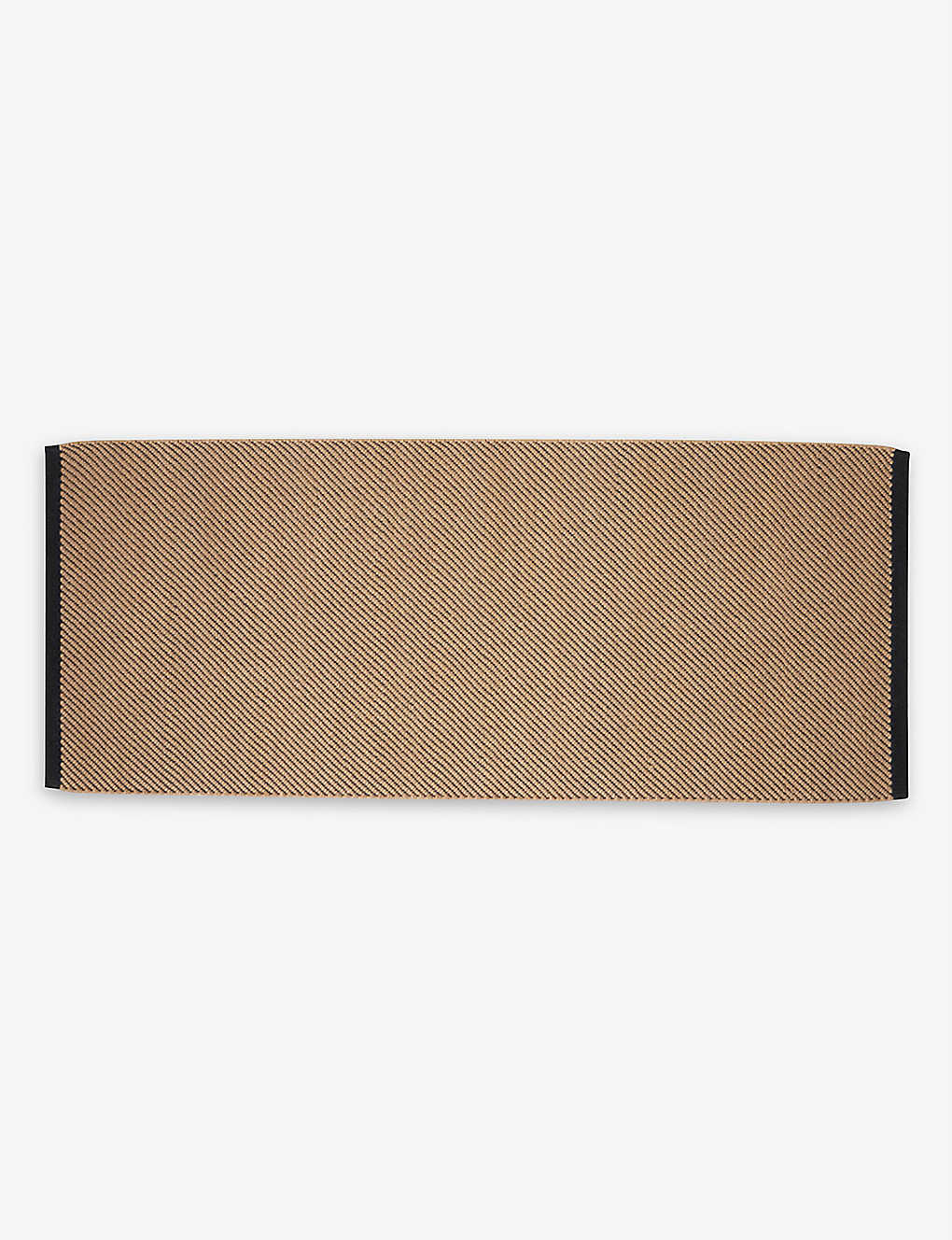HAY: Bias non-slip cotton rug 80x200cm