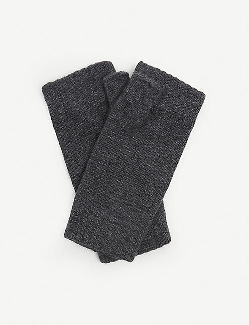 JOHNSTONS: Cashmere wrist warmers