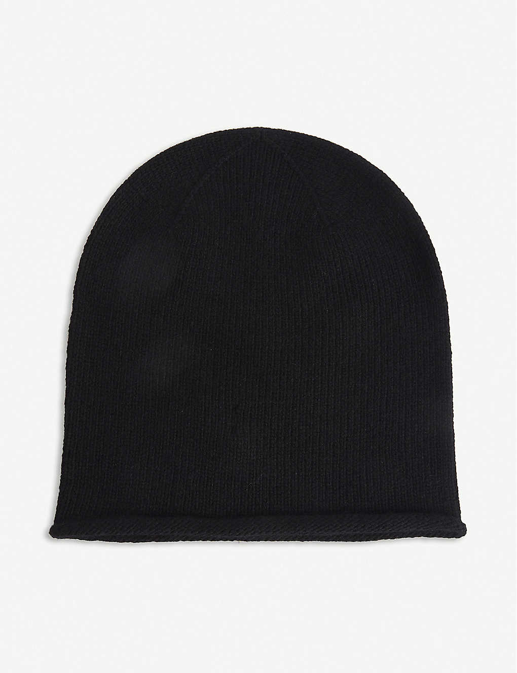 JOHNSTONS: Cashmere beanie hat