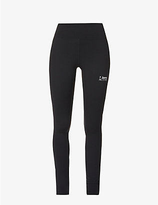 7 DAYS ACTIVE: KK high-rise stretch-knit leggings