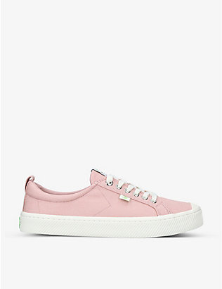 CARIUMA: Mens OCA Low lace-up canvas trainers