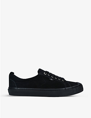 CARIUMA: Mens OCA suede low-top trainers