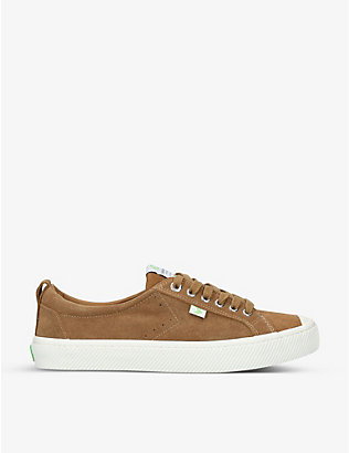 CARIUMA: Mens OCA Low suede trainers