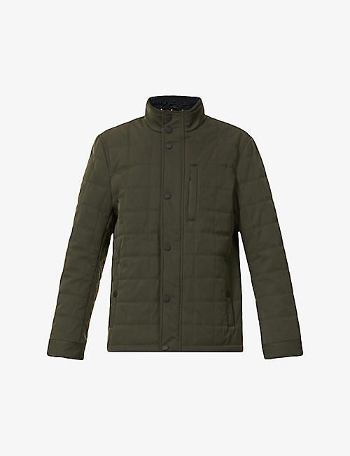 TED BAKER: Quilted shell jacket