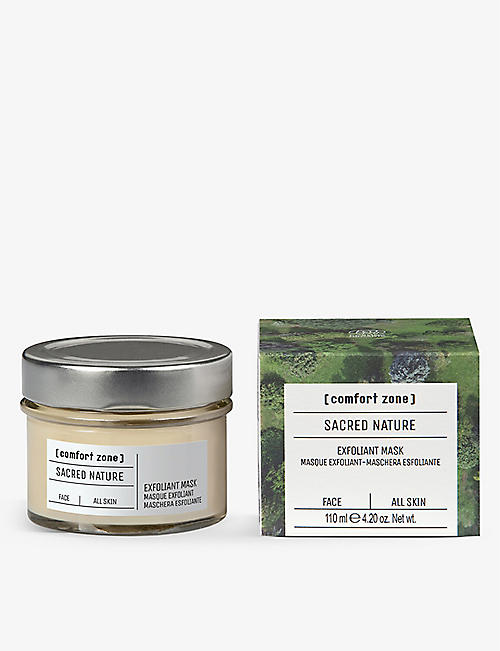 COMFORT ZONE: Sacred Nature exfoliant mask 110ml
