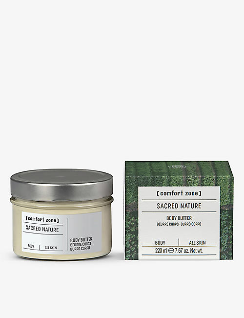 COMFORT ZONE: Sacred Nature body butter 220ml