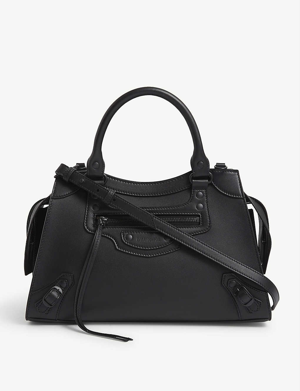 BALENCIAGA: Neo Classic City small leather tote bag