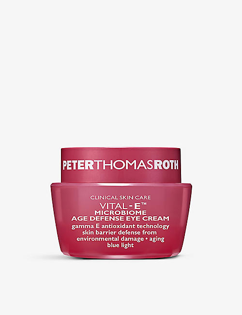 PETER THOMAS ROTH: Vital-E Microbiome Age Defense eye cream 15ml