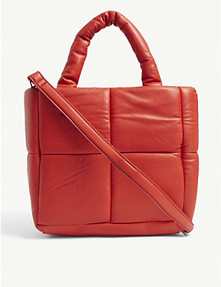 STAND: Rosanne quilted leather tote bag