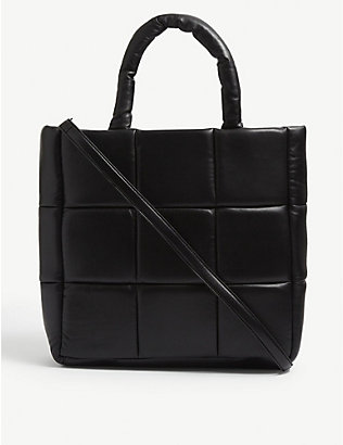 STAND: Assante quilted leather tote bag