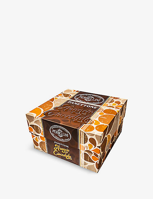 PERBELLINI: Chocolate and orange panettone 950g