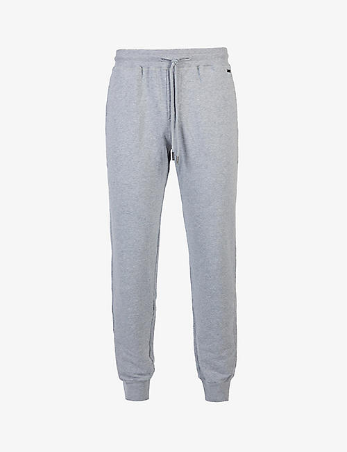HANRO: Leisure tapered stretch-cotton jogging bottoms