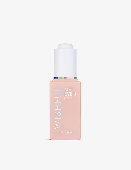 HUDA BEAUTY: WISHFUL Get Even rose oil 31ml