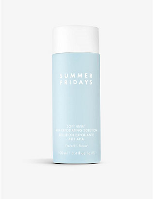 SUMMER FRIDAYS: Soft Reset AHA exfoliating solution 100ml