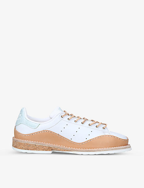 PETERSON STOOP: adidas Stan Smith leather shoes