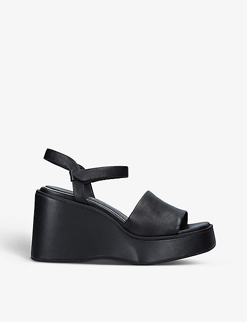 RAG AND BONE: Byron leather platform sandals