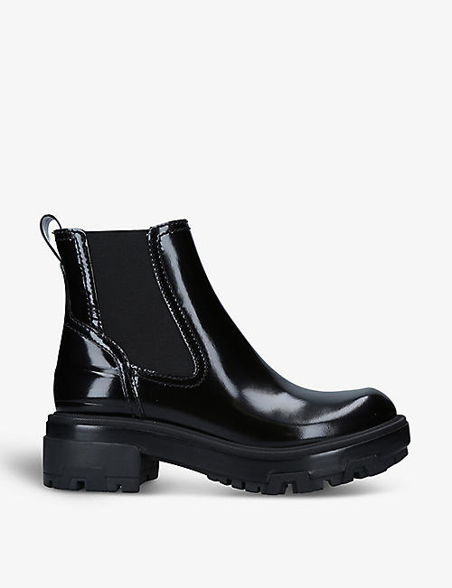 RAG AND BONE: Shaye polished leather boots