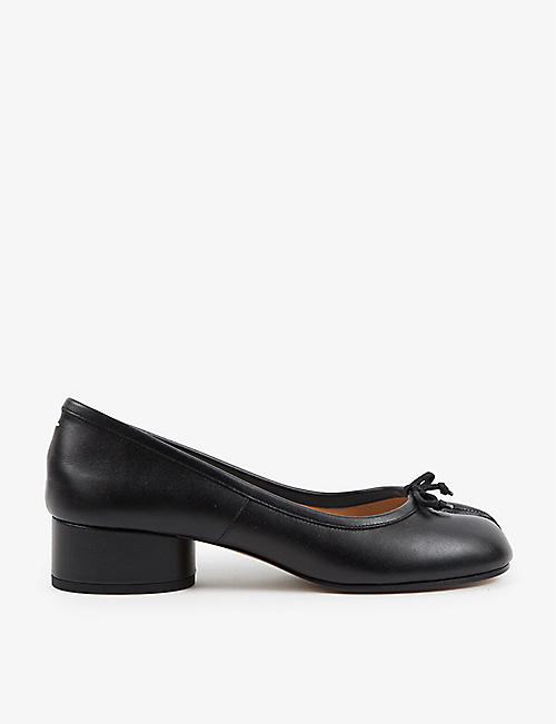 VESTIAIRE COLLECTIVE: Pre-loved Maison Martin Margiela split-toe leather courts
