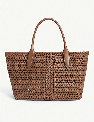 ANYA HINDMARCH: Neeson woven leather tote