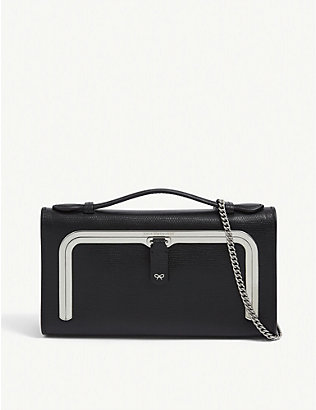 ANYA HINDMARCH: Mini leather postbox bag