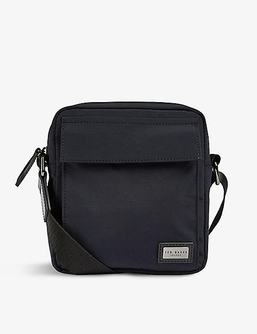 TED BAKER: Hekter nylon flight bag