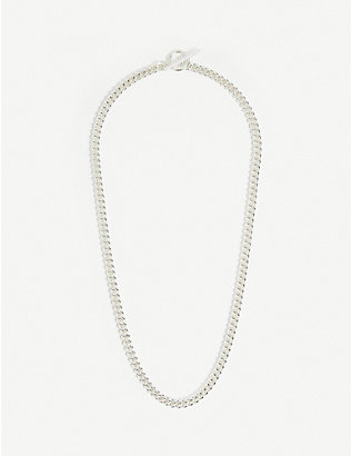 TILLY SVEAAS LTD: Curb sterling silver necklace