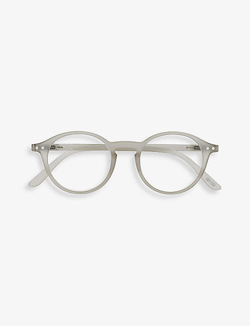 IZIPIZI: Reading #D round-frame acetate eye glasses