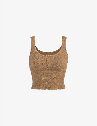 SKIMS: Cozy stretch-knitted top