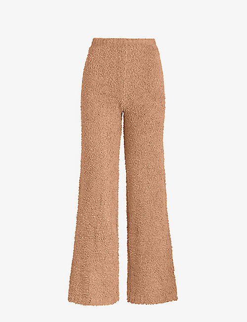 SKIMS: Cozy boucle knitted trousers