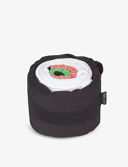 DOIY: Itamae Salmon Sushi kitchen towel set