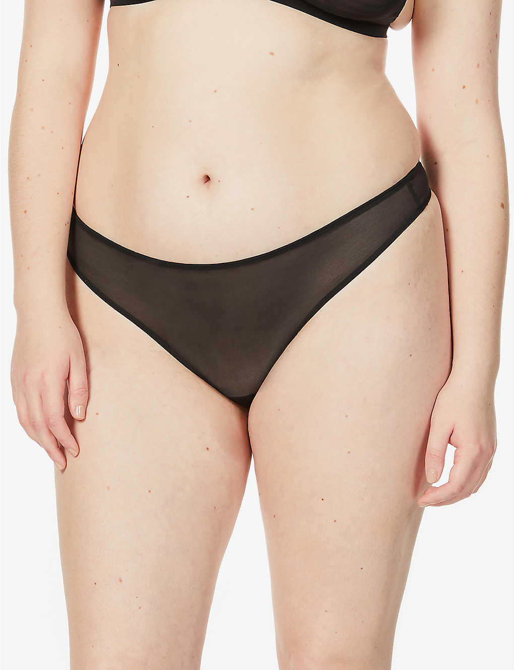 SKIMS: Built Up high-rise stretch-jersey thong