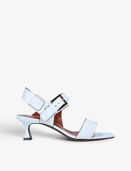 MANU ATELIER: Paris leather heeled sandals