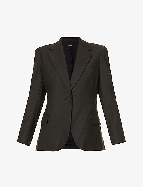 THEORY: Tailored virgin wool blazer