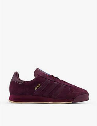 ADIDAS: AS 520 suede trainers